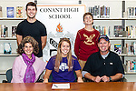 15 CHS Maddy Sign Holy Cross