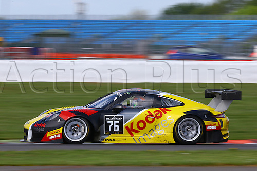 14.05.2016. Silvertone Circuit, Nathants, England. Blancpain Endurance GT Series motor racing.  #76 IMSA PERFORMANCE (FRA) PORSCHE 911 GT3 R RAYMOND NARAC (FRA) THIERRY CORNAC (FRA) MAXIME JOUSSE (FRA)