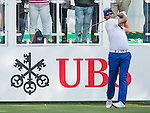 Pablo Larrazabal of Spain tees off the first hole during the 58th UBS Hong Kong Golf Open as part of the European Tour on 08 December 2016, at the Hong Kong Golf Club, Fanling, Hong Kong, China. Photo by Marcio Rodrigo Machado / Power Sport Images