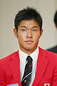 kazuto Doi (JPN), JULY 1, 2016 - Sailing : Japan Sailing Federations held a press conference in Tokyo, Japan. JSAF has announced the Japan National team for 2016 Rio de Janeiro Summer Olympics. (Photo by Yusuke Nakanishi/AFLO SPORT)