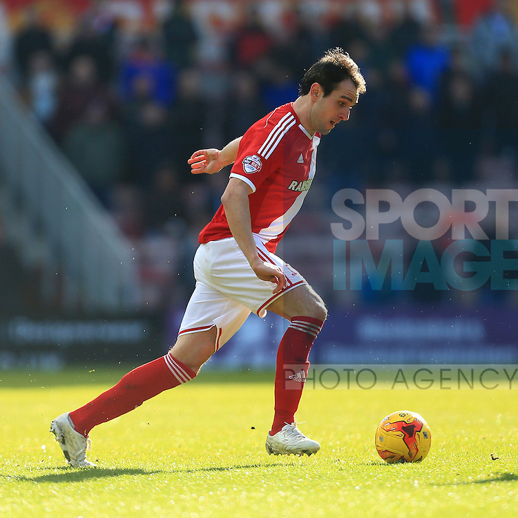 Kike of Middlesbrough - Middlesbrough vs. Leeds United - Skybet Championship - Riverside Stadium - Middlesbrough - 21/02/2015 Pic Philip Oldham/Sportimage
