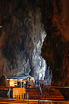 A view inside Batu Caves on Wednesday April 24th 2013 in Kuala Lumpur, Malaysia. (Photo by Brian Garfinkel)