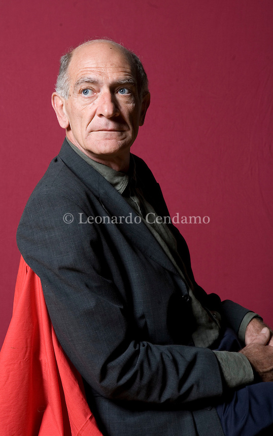 Modena, Italy, 2008. Paolo Virno, Italian philosopher, semiologist, professor. Supporter of the Italian Marxist movement. Mr. Virno teaches ethics of communication at the Univeristy of Calabria.