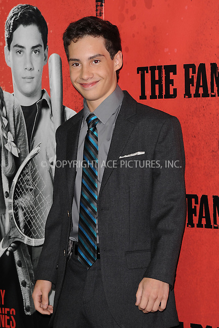 WWW.ACEPIXS.COM<br /> September 10, 2013 New York City<br /> <br /> John D' Leo attending the World Premiere of &quot;The Family&quot; in New York City on September 10, 2013. <br /> By Line: Kristin Callahan/ACE Pictures<br /> <br /> ACE Pictures, Inc.<br /> tel: 646 769 0430<br /> Email: info@acepixs.com<br /> www.acepixs.com<br /> Copyright:<br /> Kristin Callahan/ACE Pictures
