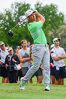 Paul Casey (GBR) watches his tee shot on 11 during round 4 of the Dean &amp; Deluca Invitational, at The Colonial, Ft. Worth, Texas, USA. 5/28/2017.<br /> Picture: Golffile | Ken Murray<br /> <br /> <br /> All photo usage must carry mandatory copyright credit (&copy; Golffile | Ken Murray)