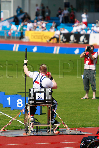 Paralympic World Cup in Manchester at Sport City 25th May 2009. (Photo: James Cashel/ActionPlus)