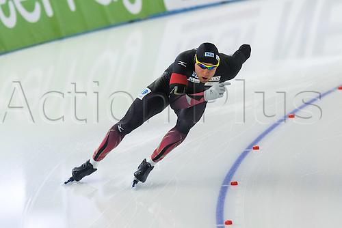 January 29th 2017, Sportforum, Berlin, Germany; ISU Speed Skating World Cup;  ISU Speed Skating World Cup , 500m Division A; Nico Ihle (GER)