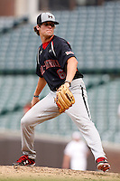 August 8, 2009:  Catcher/Pitcher Case Nixon (6) of the Baseball Factory team during the Under Armour All-America event at Wrigley Field in Chicago, IL.  Photo By Mike Janes/Four Seam Images