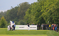 Jamie Donaldson (WAL) on the 5th tee during Round 3 of the D+D Real Czech Masters at the Albatross Golf Resort, Prague, Czech Rep. 02/09/2017<br /> Picture: Golffile | Thos Caffrey<br /> <br /> <br /> All photo usage must carry mandatory copyright credit     (&copy; Golffile | Thos Caffrey)