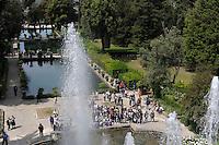 Le Peschiere.Fishponds..Villa d'Este di Tivoli, patrimonio mondiale dell' UNESCO..Villa d'Este is included in the UNESCO world heritage list.