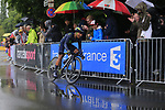 Nairo Quintana (COL) Movistar Team in action during Stage 1, a 14km individual time trial around Dusseldorf, of the 104th edition of the Tour de France 2017, Dusseldorf, Germany. 1st July 2017.<br /> Picture: Eoin Clarke | Cyclefile<br /> <br /> <br /> All photos usage must carry mandatory copyright credit (&copy; Cyclefile | Eoin Clarke)