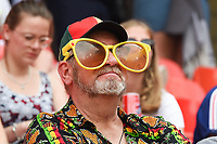 20190623 - VALENCIENNES , FRANCE : illustration picture shows fans during the female soccer game between England – the Lionesses - and Cameroon – Indomitable Lionesses - , a knock out game in the round of 16 during the FIFA Women's  World Championship in France 2019, Sunday 23 th June 2019 at the Stade du Hainaut Stadium in Valenciennes , France .  PHOTO SPORTPIX.BE | DIRK VUYLSTEKE