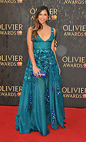 Christine Allado at the Olivier Awards 2018, Royal Albert Hall, Kensington Gore, London, England, UK, on Sunday 08 April 2018.<br /> CAP/CAN<br /> &copy;CAN/Capital Pictures<br /> CAP/CAN<br /> &copy;CAN/Capital Pictures