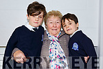 Conor and Dara Cronin with grandmother Helen O'Connor from the Kerries at the Blennerville National schools Grandparents day on Friday last.
