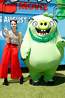 """LOS ANGELES - AUG 10:  Annie Rose at the """"The Angry Birds Movie 2"""" at the Village Theater on August 10, 2019 in Westwood, CA"""