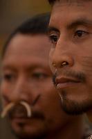 XI Jogos dos Povos Indígenas -  Índios Mathis do Amazonas.<br /> O evento, que acontece entre os dias 5 e 12 de novembro, tem como sede o município tocantinense de Porto Nacional, que fica a cerca de 60km da capital, Palmas. São sete dias de competições e apresentações culturais, com a participação de cerca de 1.300 indígenas, de aproximadamente 35 etnias, vindas de todas as regiões do país. São esperados ainda líderes e observadores indígenas de outros países (Argentina, Austrália, Bolívia, Canadá, Equador, EUA, Guiana Francesa, Peru e Venezuela). <br /> Foto Paulo Santos<br /> 08/11/2011<br /> Ilha de Porto Real, Porto Nacional, Brasil