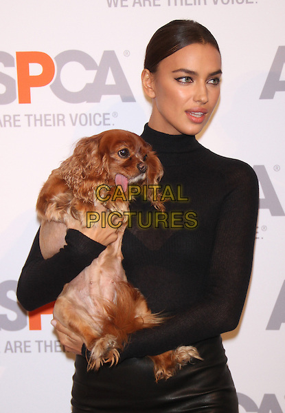 NEW YORK, NY - OCTOBER 16: Irina Shayk at ASPCA Young Friends Benefit at IAC Building on October 16, 2014 in New York City.  <br /> CAP/MPI/RW<br /> &copy;RW/ MediaPunch/Capital Pictures