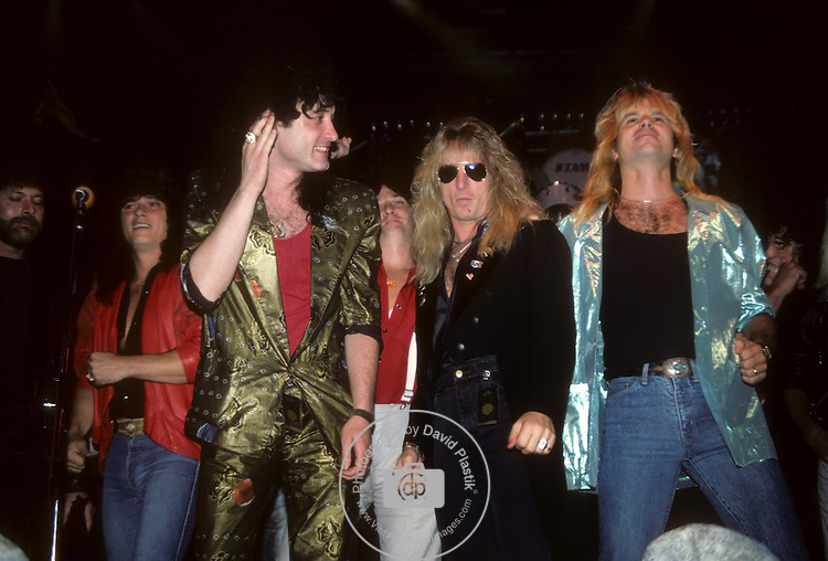 Paul Shortino, Kevin DuBrow, Dave Alford