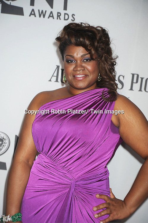 Da'Vine Joy Randolph  attends th 66th Annual Tony Awards on June 10, 2012 at The Beacon Theatre in New York City.