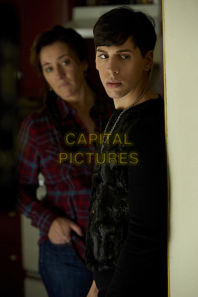 Maria Doyle Kennedy, Jordan Gavaris<br /> in Orphan Black (2013&ndash; ) <br /> (Season 3)<br /> *Filmstill - Editorial Use Only*<br /> CAP/FB<br /> Image supplied by Capital Pictures