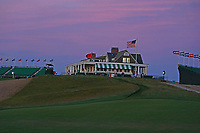 A general view of the clubhouse after the third round of the 118th U.S. Open Championship at Shinnecock Hills Golf Club in Southampton, NY, USA. 16th June 2018.<br /> Picture: Golffile | Brian Spurlock<br /> <br /> <br /> All photo usage must carry mandatory copyright credit (&copy; Golffile | Brian Spurlock)