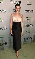 """LOS ANGELES - MARCH 2: Cailee Spaeny attends the premiere of the new FX limited series """"Devs"""" at ArcLight Cinemas on March 2, 2020 in Los Angeles, California. (Photo by Frank Micelotta/FX Networks/PictureGroup)"""