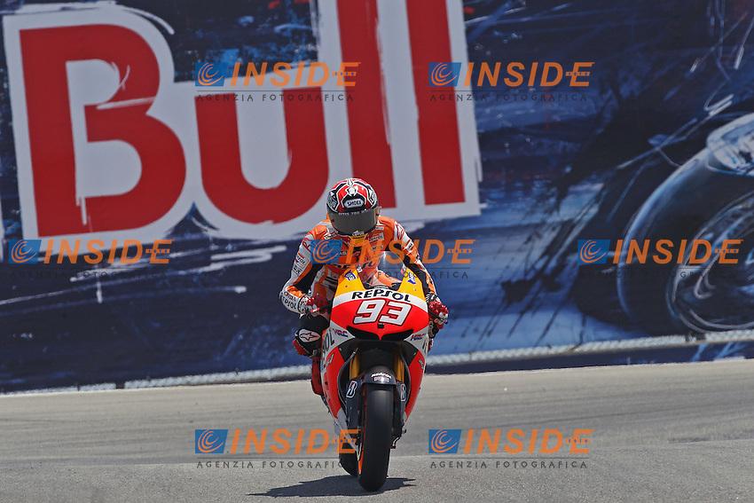Marc Marquez - Honda Repsol team<br /> 20-07-2013 Laguna Seca (USA)<br /> Motogp world championship<br /> Photo Semedia/Insidefoto<br /> ITALY ONLY