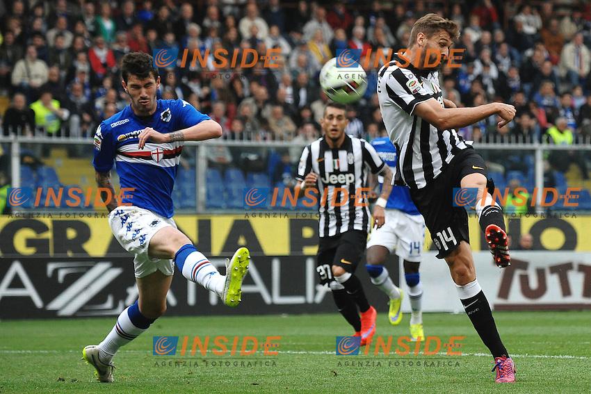 A shot of Fernando Llorente Juventus <br /> Genova 02-05-2015 Stadio Ferraris, Football Calcio Serie A 2014/2015 Sampdoria - Juventus Foto Andrea Staccioli / Insidefoto
