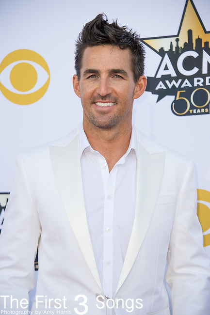 Jake Owen attends the 50th Academy Of Country Music Awards at AT&T Stadium on April 19, 2015 in Arlington, Texas.