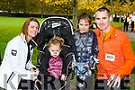Lisa, Sarah, Ella and Martin Crowley who ran in the Killarney Halloween run on Saturday
