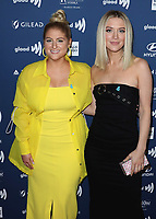 BEVERLY HILLS, CA - MARCH 28:  Meghan Trainor at the 30th Annual GLAAD Media Awards at the Beverly Hilton on March 28, 2019 in Beverly Hills, California. (Photo by Xavier Collin/PictureGroup)