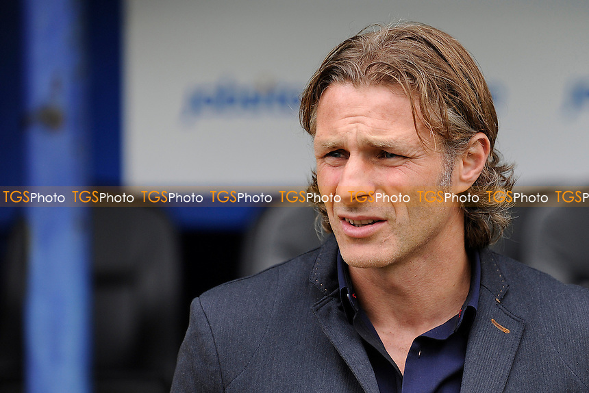 Wycombe Wanderers Manager Gareth Ainsworth - Portsmouth vs Wycombe Wanderers - Sky Bet League Two Football at Fratton Park, Portsmouth, Hampshire - 20/09/14 - MANDATORY CREDIT: Denis Murphy/TGSPHOTO - Self billing applies where appropriate - contact@tgsphoto.co.uk - NO UNPAID USE