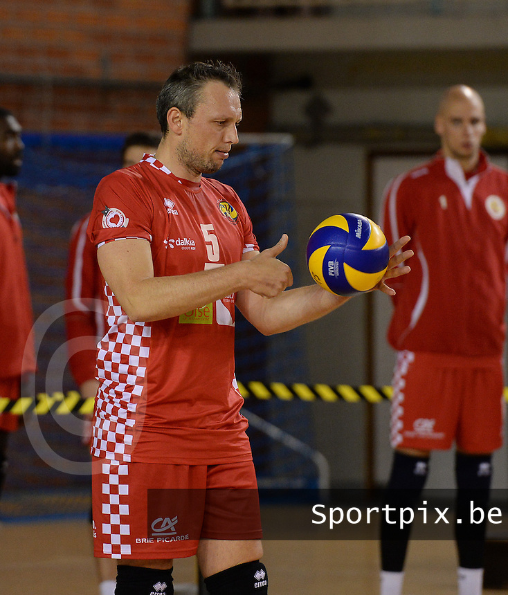 Beauvais Oise Universite Club Volley : Frank Depestele<br /> foto VDB / BART VANDENBROUCKE
