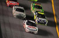 Jul. 5, 2008; Daytona Beach, FL, USA; NASCAR Sprint Cup Series driver David Ragan (6) leads Jimmie Johnson (48) Dale Earnhardt Jr (88) and Kyle Busch (18) during the Coke Zero 400 at Daytona International Speedway. Mandatory Credit: Mark J. Rebilas-