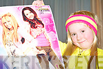 BIG FAN: Caoimhe Casey, Sean Feirme had a great time at the Hannah Montana concert at the Fels Point Hotel on Saturday.
