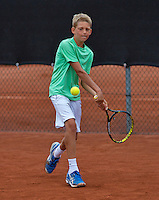 07-08-13, Netherlands, Rotterdam,  TV Victoria, Tennis, NJK 2013, National Junior Tennis Championships 2013, Tycho  Korperaal<br /> <br /> <br /> Photo: Henk Koster