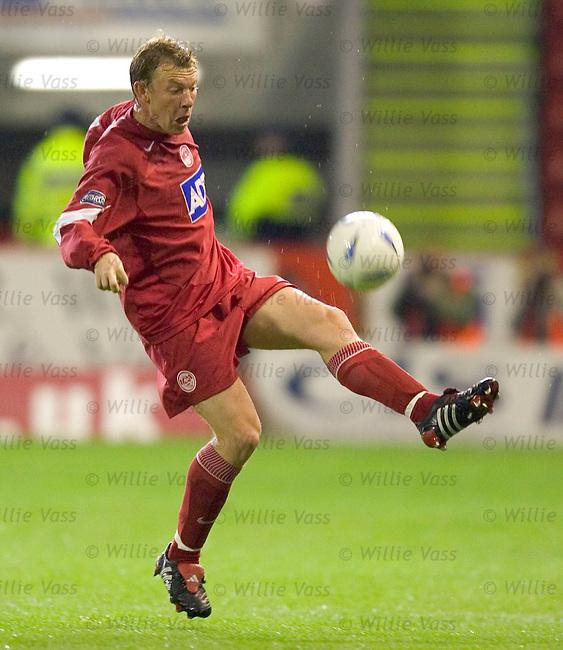 Steve Tosh, Aberdeen.stock season 2004-2005.pic willie vass