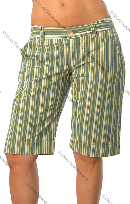 Stock photo of a pair of women's shorts