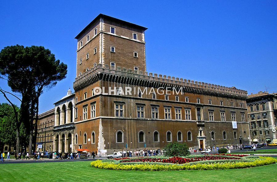 Palazzo Venezia em Roma. Itália. 2000. Foto de Vinicius Romanini.
