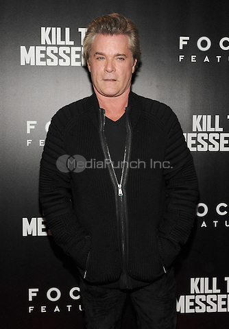 New York, NY- October 9: Ray Liotta attends the  'Kill the Messenger' New York Premiere at the Museum of Modern Art on October 9, 2014 in New York City. Credit: John Palmer/MediaPunch