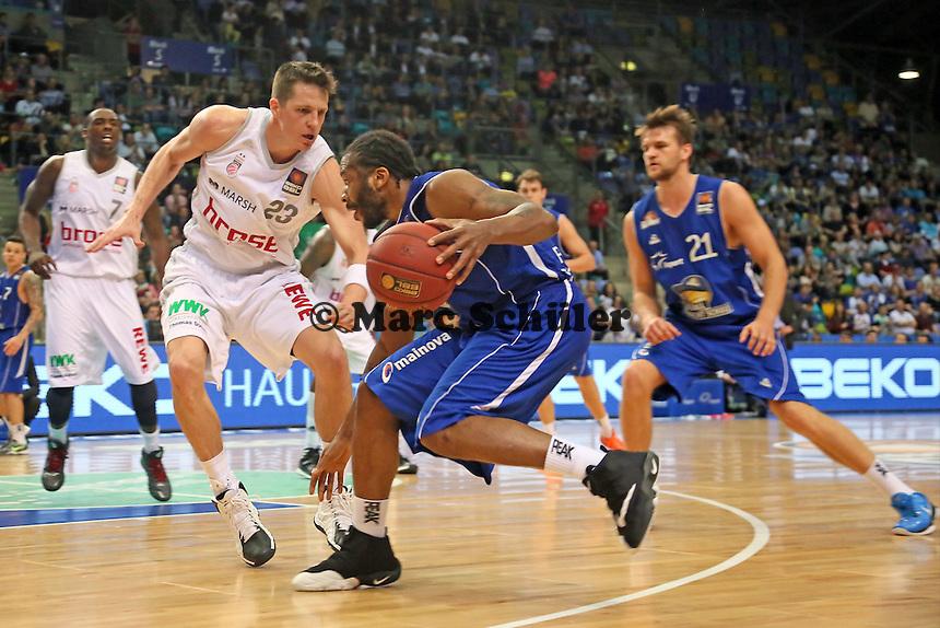 Quantez Robertson (Skyliners)- Fraport Skyliners vs. Brose Baskets Bamberg, Fraport Arena Frankfurt