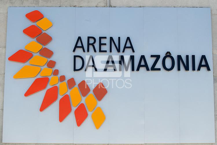 Arena Da Amazonia sign