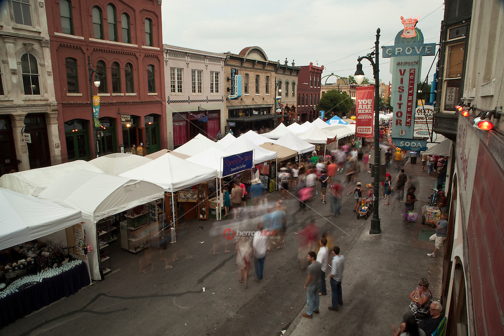 A free, family event, the Pecan Street Festival is an Austin Tradition. It?s the oldest and largest art festival in Central Texas, attracting over 300,000 people per event and generating $43 million in economic impact.