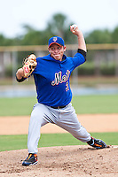 Carlos Vazquez of the Gulf Coast League Mets during the game against the Gulf Coast League Nationals June 27 2010 at the Washington Nationals complex in Viera, Florida.  Photo By Scott Jontes/Four Seam Images