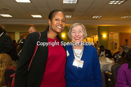 The Hyde Park Chamber of Commerce held its 96th Annual Anniversary Dinner Thursday evening at the LaQuinta Inn and Suites located at 4900 S. Lake Shore Drive.<br /> <br /> 7644 &ndash; 4th Ward Alderman, Sophia King and State Representative 25th District, Barbara Flynn Currie<br /> <br /> Please 'Like' &quot;Spencer Bibbs Photography&quot; on Facebook.<br /> <br /> All rights to this photo are owned by Spencer Bibbs of Spencer Bibbs Photography and may only be used in any way shape or form, whole or in part with written permission by the owner of the photo, Spencer Bibbs.<br /> <br /> For all of your photography needs, please contact Spencer Bibbs at 773-895-4744. I can also be reached in the following ways:<br /> <br /> Website &ndash; www.spbdigitalconcepts.photoshelter.com<br /> <br /> Text - Text &ldquo;Spencer Bibbs&rdquo; to 72727<br /> <br /> Email &ndash; spencerbibbsphotography@yahoo.com