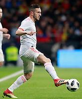 Spain's Koke Resurreccion during international friendly match. March 27,2018. *** Local Caption *** © pixathlon<br /> Contact: +49-40-22 63 02 60 , info@pixathlon.de