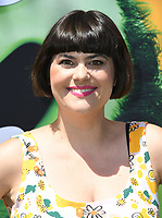 """10 August 2019 - Westwood, California - Rebekka Johnson. Sony's """"The Angry Birds Movie 2"""" Los Angeles Premiere held at Regency Village Theater.   <br /> CAP/ADM/BT<br /> ©BT/ADM/Capital Pictures"""