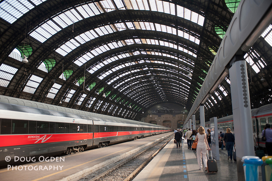 Train Station, Milan, Italy