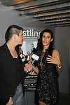 "We Love Soaps Damon L. Jacobs interviews Jessica Press at A private screening of Sebastian La Cause's web series ""Hustling"" Season Two - 'cause everybody got a hustle -  was held on November 19, 2012 at TriBeca's Cinemas, New York City, New York. Days of our Lives ""Silvio"", One Live To Live and All My Children's Sebastian is the creator of Hustling along with being the writer, director and star (Photo by Sue Coflin/Max Photos)"