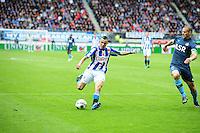 VOETBAL: HEERENVEEN: Abe Lenstra Stadion, SC Heerenveen - Feyenoord, 06-05-2012, Oussama Assaidi (#22), Ron Vlaar (#4), Eindstand 2-3, ©foto Martin de Jong